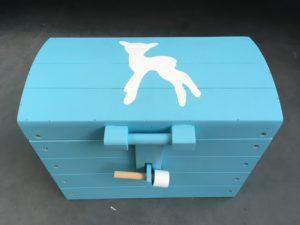 houten speelgoedkistje